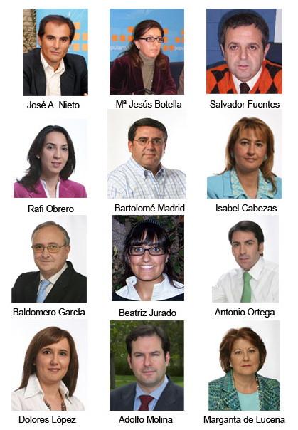 Lista por el Parlamento Andaluz