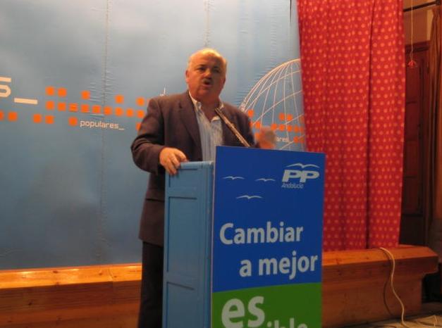 Jesus Aguirre en acto Partido Popular Fuente Palmera