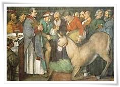 milagro de la mula de San Antonio de Padua